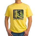Skier Challenge Yellow T-Shirt