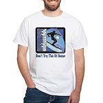 Skier Challenge White T-Shirt
