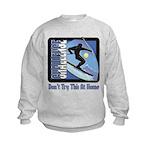 Skier Challenge Kids Sweatshirt