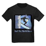Skier Challenge Kids Dark T-Shirt