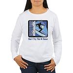 Skier Challenge Women's Long Sleeve T-Shirt