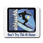 Skier Challenge Mousepad