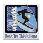 Skier Challenge Tile Coaster