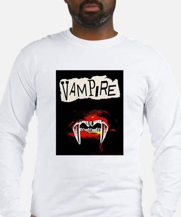 Vampire Punk Long Sleeve T-Shirt