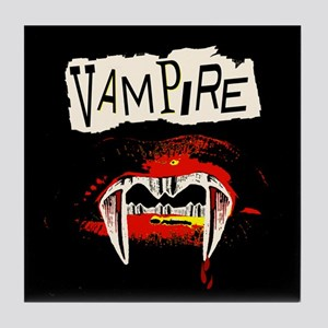 Vampire Punk Tile Coaster
