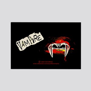 Vampire Punk Rectangle Magnet