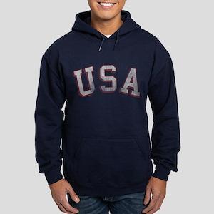 Vintage USA Hoodie (dark)