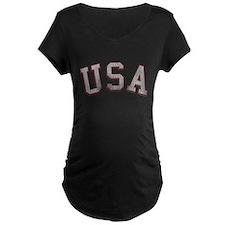 Vintage USA Maternity Dark T-Shirt