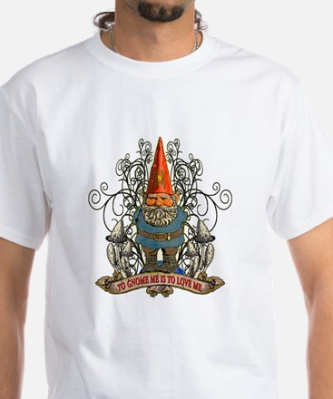 GNOOKIE GNOME White T-Shirt