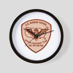 Border Patrol Del Rio SRT Wall Clock