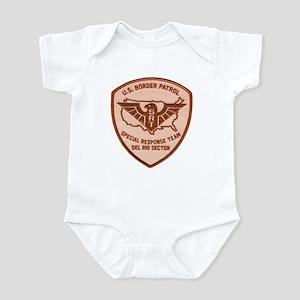 Border Patrol Del Rio SRT Infant Bodysuit