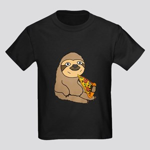 Funny Sloth Eating Pizza T-Shirt