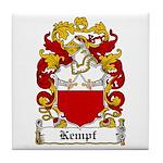 Kempf Coat of Arms Tile Coaster