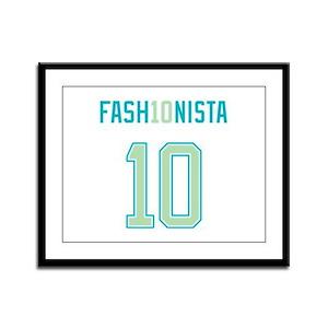 Fashion Week 2010 Framed Panel Print