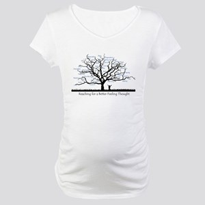 Vortex of Well Being Maternity T-Shirt