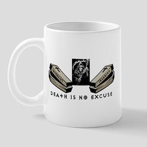 death is no excuse logo Mugs