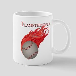 Flamethrower Baseball Mug