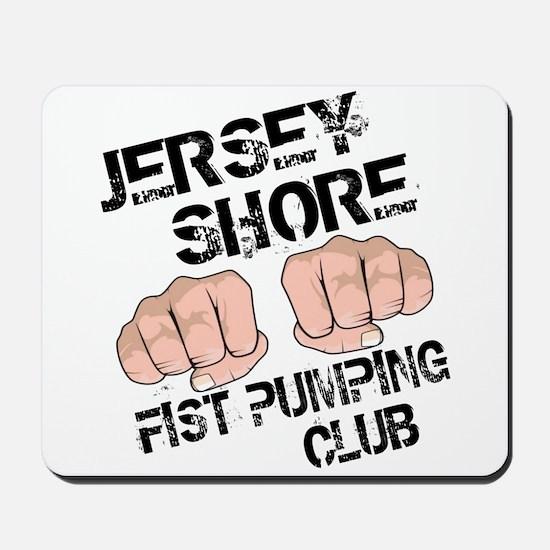 Jersey Shore Fist Pumping Club Mousepad