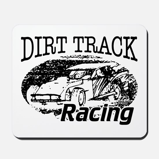 Dirt Track Racing Modifieds Mousepad