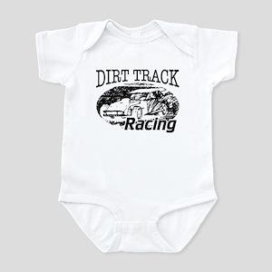 Dirt Track Racing Modifieds Infant Bodysuit