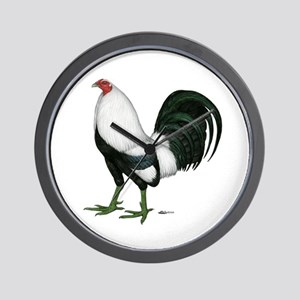 Duckwing Gamecock Wall Clock