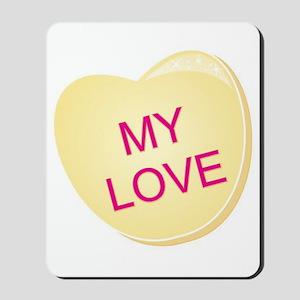 My Love Heart Mousepad