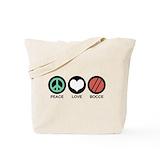 Bocce Canvas Tote Bag