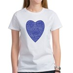 Blue Heart Women's T-Shirt