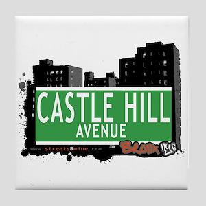 Castle Hill Av, Bronx, NYC Tile Coaster