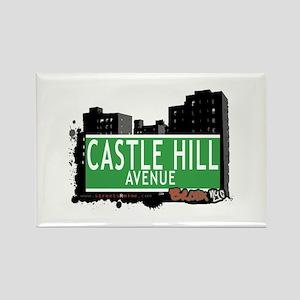 Castle Hill Av, Bronx, NYC Rectangle Magnet