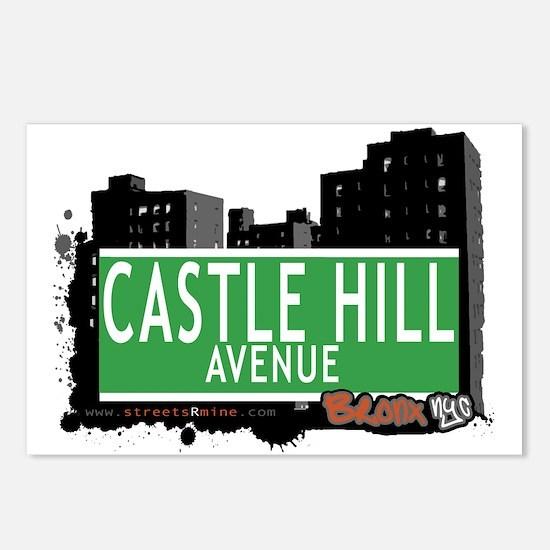 Castle Hill Av, Bronx, NYC Postcards (Package of 8