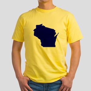 Wisconsin Yellow T-Shirt