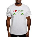 Love Irish Folk Light T-Shirt