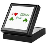 Love Irish Folk Keepsake Box