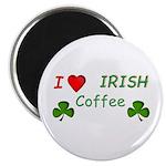 """Love Irish Coffee 2.25"""" Magnet (10 pack)"""