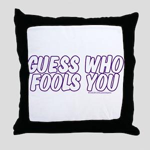 April Fools' Day Throw Pillow