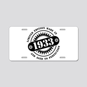 LIMITED EDITION MADE IN 193 Aluminum License Plate