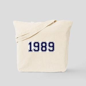 1989 Tote Bag