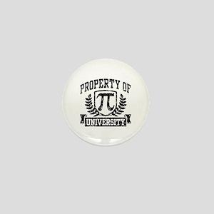 Property of Pi University Mini Button