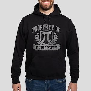 Property of Pi University Hoodie (dark)