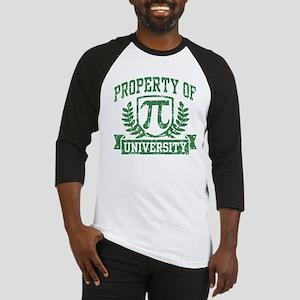 Property of Pi University Baseball Jersey