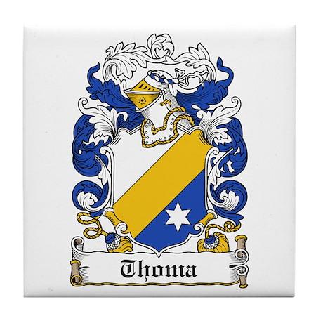 Thoma Coat of Arms Tile Coaster