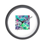 Angelic Home Blessing Wall Clock