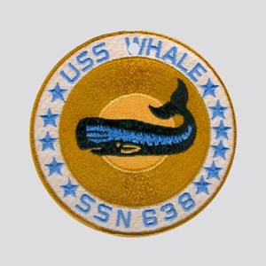 USS WHALE Ornament (Round)