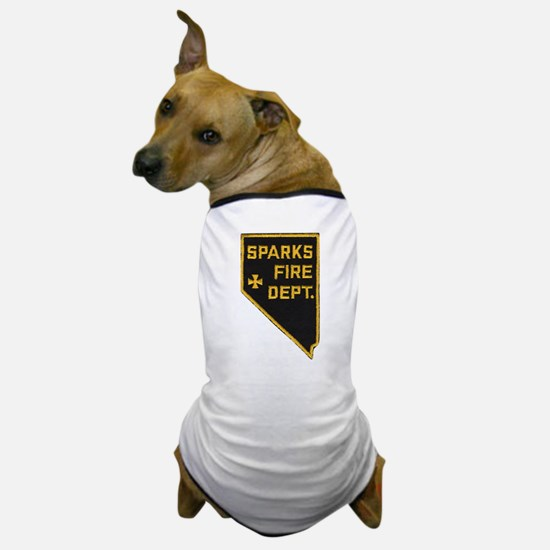 Sparks Nevada Fire Department Dog T-Shirt