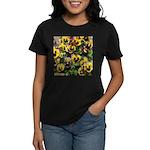 Fizzy Lemonberry Pansies Women's T-shirt