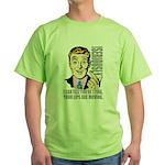 Retro dude Green T-Shirt