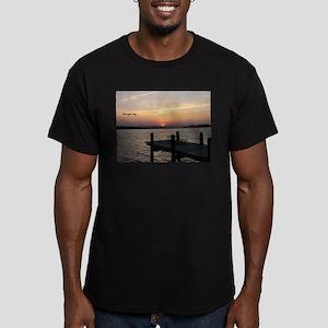 Barnegat Bay Men's Fitted T-Shirt (dark)