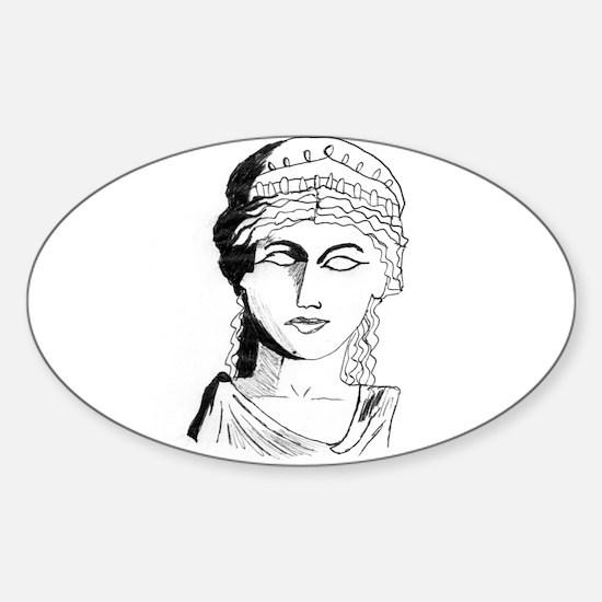 Hera Sticker (Oval)