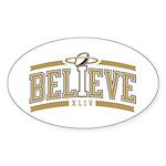 Fleur_De_Lis Sticker (Oval 10 pk)
